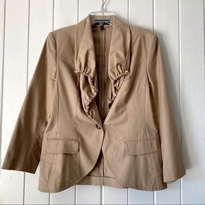 ESCADA Jacket Blazer 40 Britha Tan